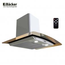 Кухонная вытяжка Backer QD60E-TGL200RC DG White